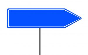 security assessment road sign